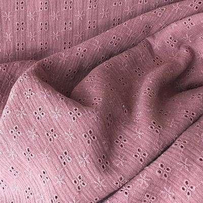 Hydrofiel broderie, Old Pink