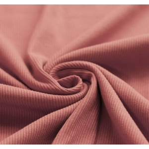 Ribbel Jersey Klei Roze